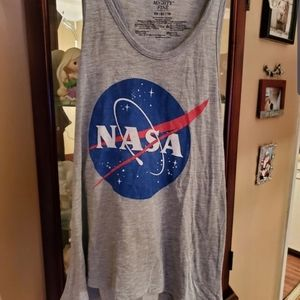 NASA TANK TOP SZ XS RACER BACK